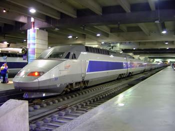 Franska höghastighetståget TGV