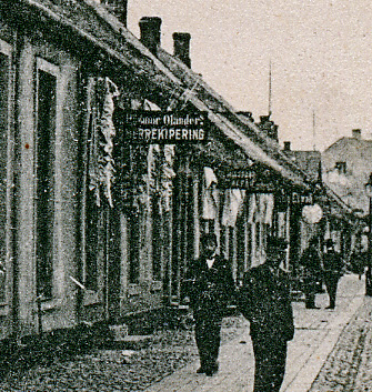 Vykort Storgatan