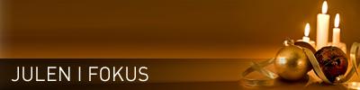 Sidhuvud för Julen iFokus. Länk till startsidan för denna sajt