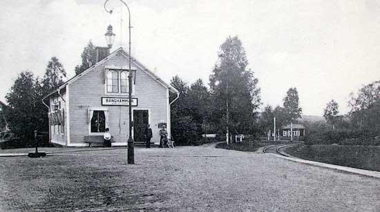 Bånghammar station 1912