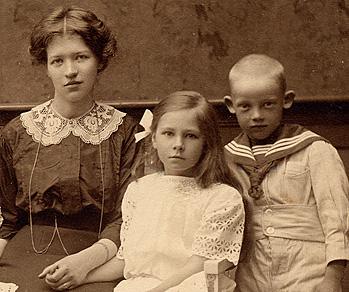 Lärarinnan, Daga och pojke