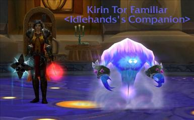 Idle och Kirin Tor Familiar.jpg