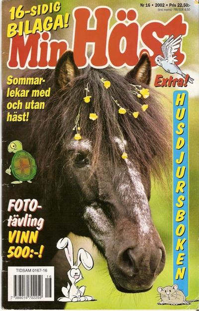 Här kommer ytterligare en Madeleine Strand-bild på omslaget av Min Häst c3af763f4b647
