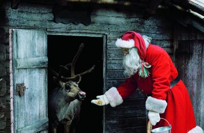 Tomten och Rudolf
