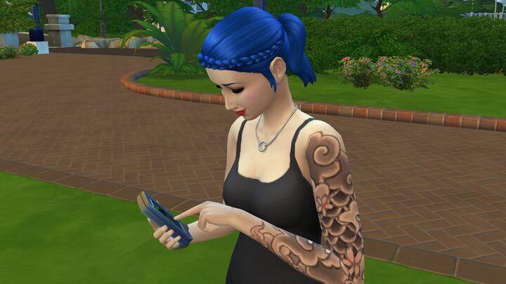 Min flickvän spelar dating Sims