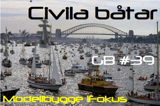 Banner GB #39: Civila båtar