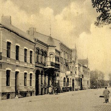 Järnvägsgatan - andra huset är nr 27