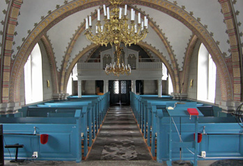 Starby kyrka - interiör