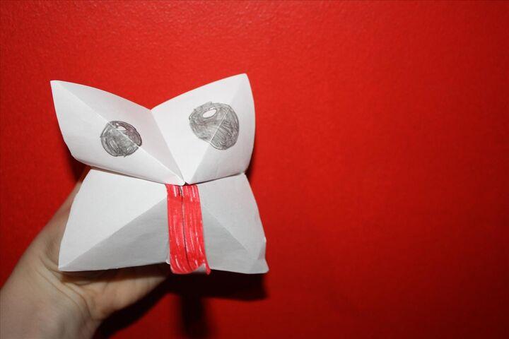 Hur du viker en pappersloppa