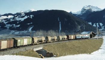 Schwieziskt godståg