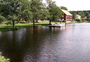 Brevens ån i Juli 2006 Fotograf: thoxo Källa Wik