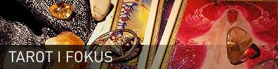 Sidhuvud för Tarot iFokus. Länk till startsidan för denna sajt