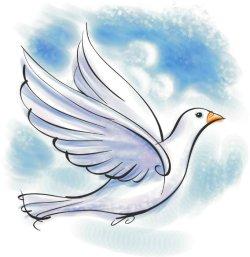 Duvan ett av spiritualismens symboler