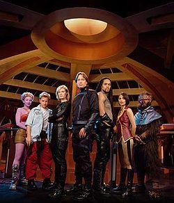 Besättningen på Andromeda Säsong 1.