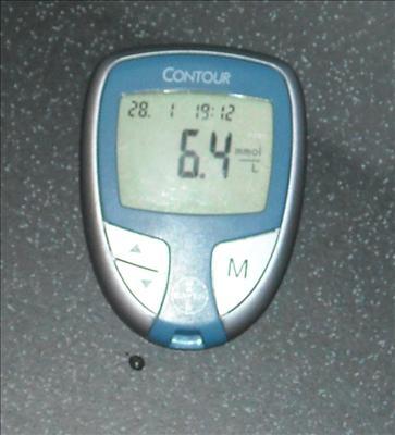 6,4 mmol/liter är ett bra värde!