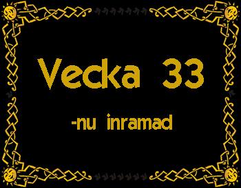 Vecka 33