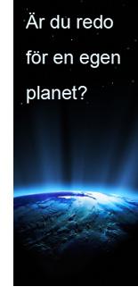 Redo för en egen planet?