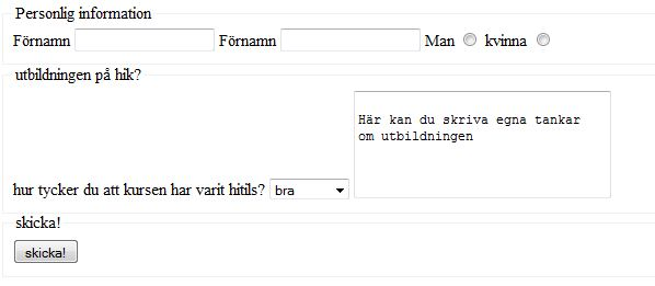 formuläret