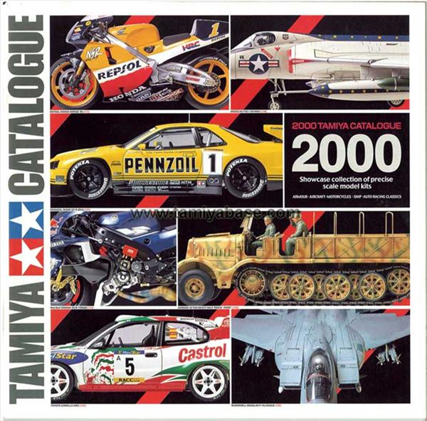 Framsida katalog Tamiya 2000