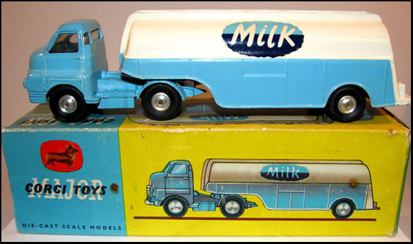 Corgi Major # 1129 Bedford Milk Tanker._pix.jpg