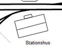 karta Högfors station