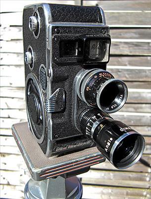Paillard Bolex kamera för Dubbel 8