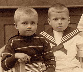 Två pojkar