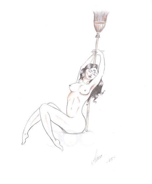 Egen ritade teckningar  u  - Pyssel och kreativt skapande - Häxor iFokus d98f4e3cae07f