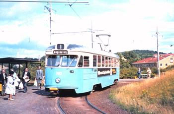 Spårvagn från Göteborg