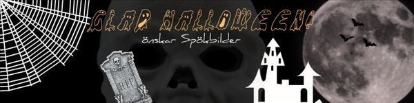 Halloween banner gjord av Mollis25