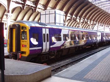Tåg från England