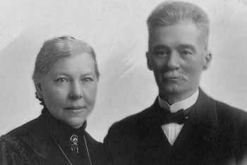 Augusta Andersdotter med maken Paul Månsson