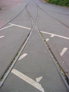 Spårvagnsspår