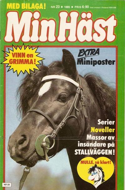 ... e Pajazzo RW 4) prydde omslaget av Min Häst nr 23 b206e0a3d4734
