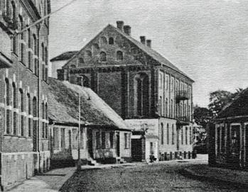 Södra delen av Storgatan