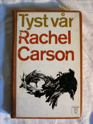 Framsidan på Prismas svenska upplaga av Tyst vår, tryckt 1970