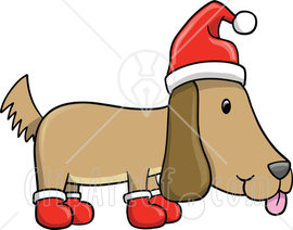 63443-Royalty-Free-RF-Clipart-Illustration-Of-A-Christmas-Dog-Wearing-Socks-And-A-Santa-Hat.jpg