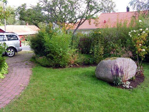 stor sten till trädgården