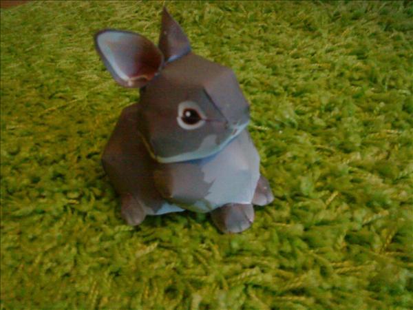 Kaninen är gjord av Sessan!