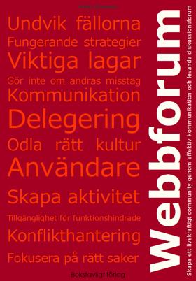 Boken Webbforums omslag