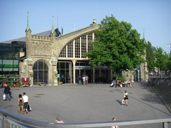 Södra entrén till centralstationen