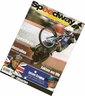Omslaget Speddway Racing nummer 2