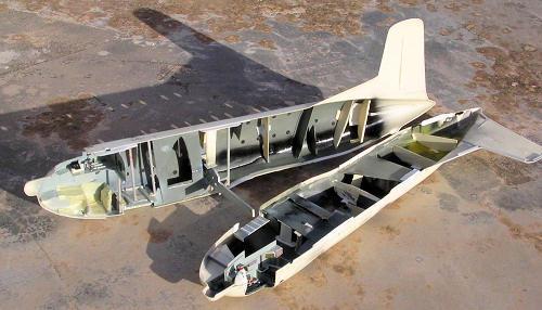 C-124 Globemaster, insidan