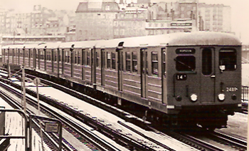 Bilden: Ännu ett av de äldre tågseten.