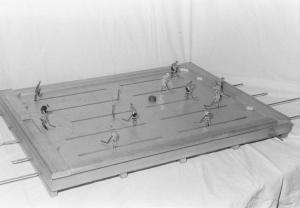 Aristospels första hockeyspel hette Puck