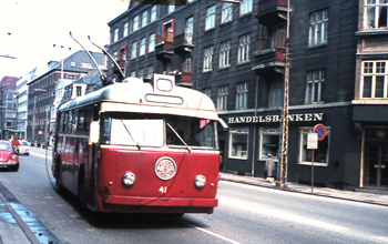 Trådbuss från Köpenhamn