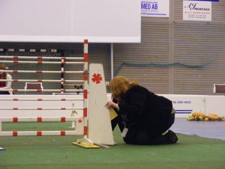 Anneli Nilsson pallar hindret!