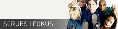 Sidhuvud för Scrubs iFokus. Länk till startsidan för denna sajt