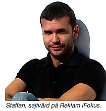 Staffan, sajtvärd på Reklam iFokus.