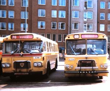 Bussar från mitten av 1970-talet